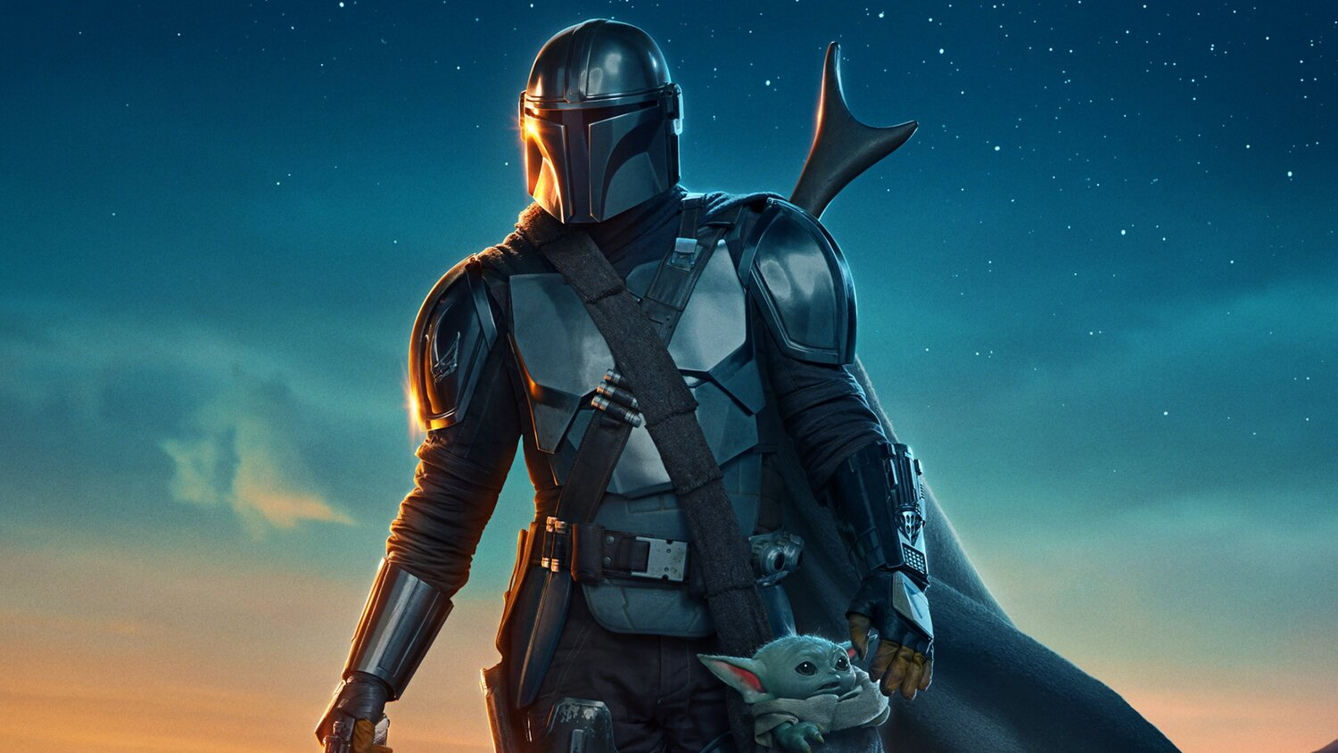 Cool Poster Art For Lucasfilm's THE MANDALORIAN