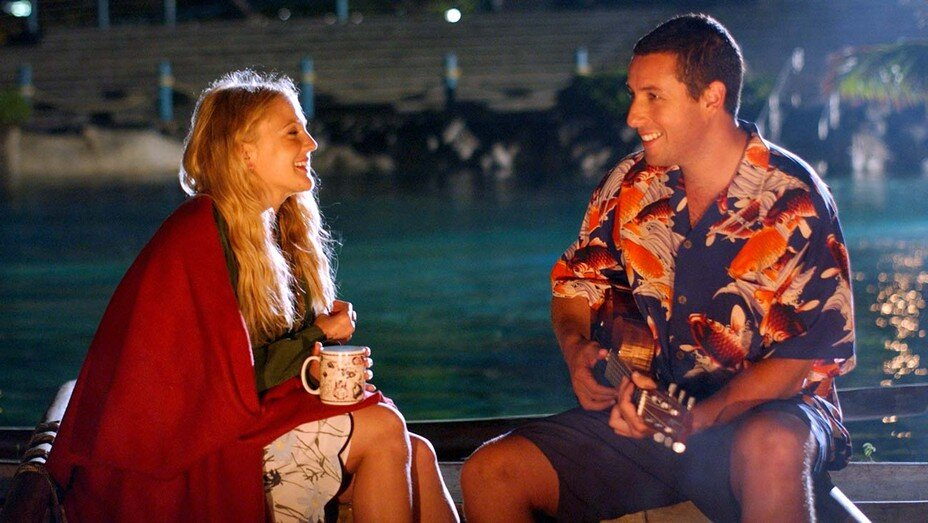 Adam Sandler Creates 2020 Version of 50 FIRST DATES Video For Drew Barrymore's New Talk Show