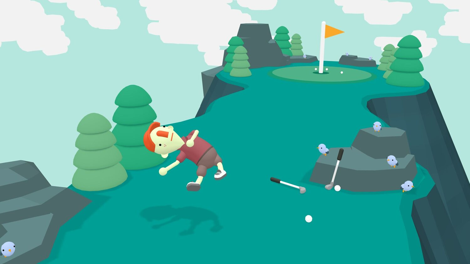 WHAT THE GOLF? is Now on Steam with a New Level Editor