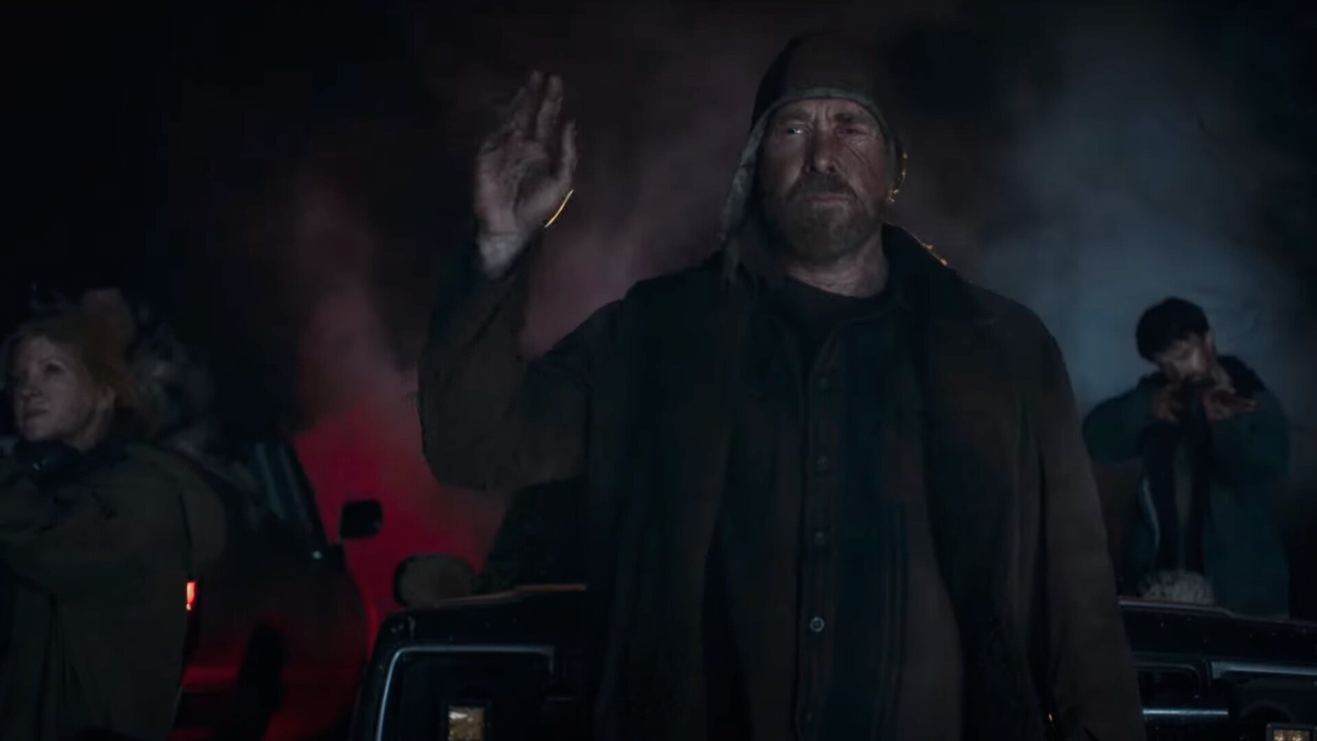 trailer for the coal mine monster movie the devil below starring will patton