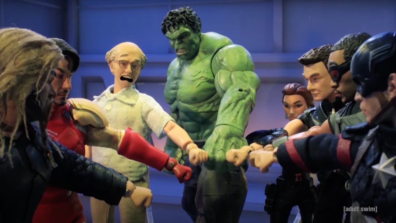 Photo of Larry David Inspires Thanos' Snap in Funny ROBOT CHICKEN Clip — GeekTyrant