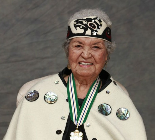 Ellen White, Coast Salish Elder -