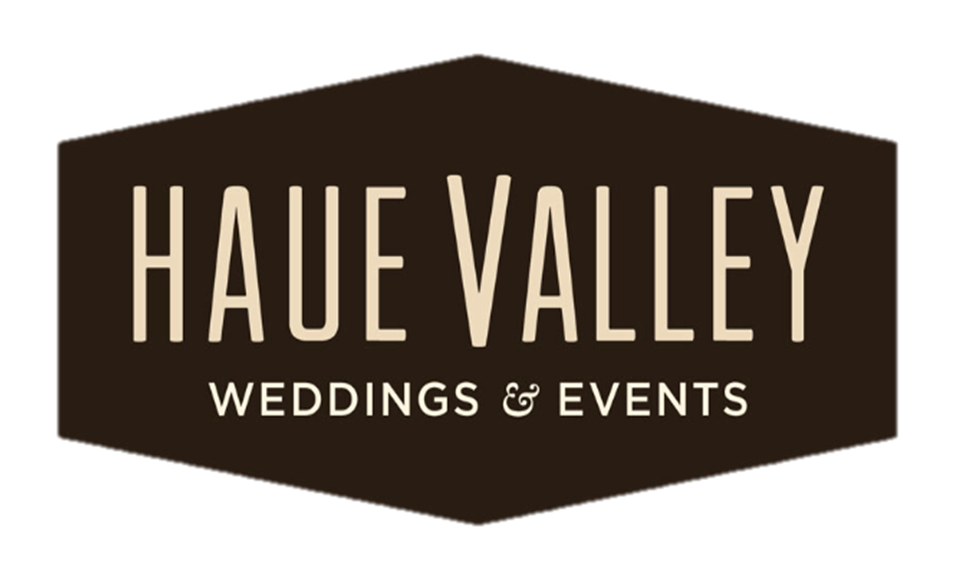 Haue Valley: We look forward to playing a small part in your big day.