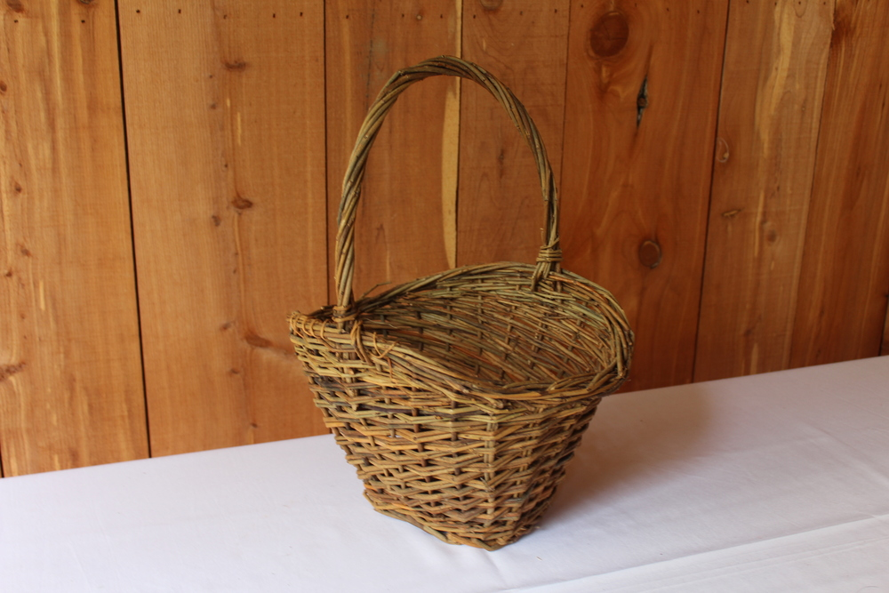 #67 - Tall Wicker Basket