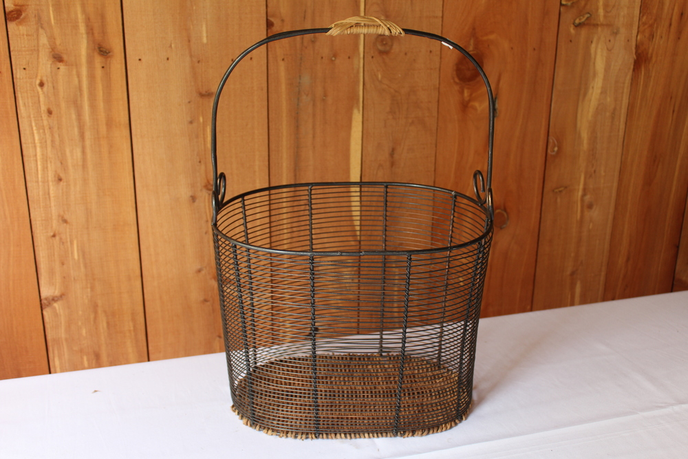 #79 - Tall Wire Basket