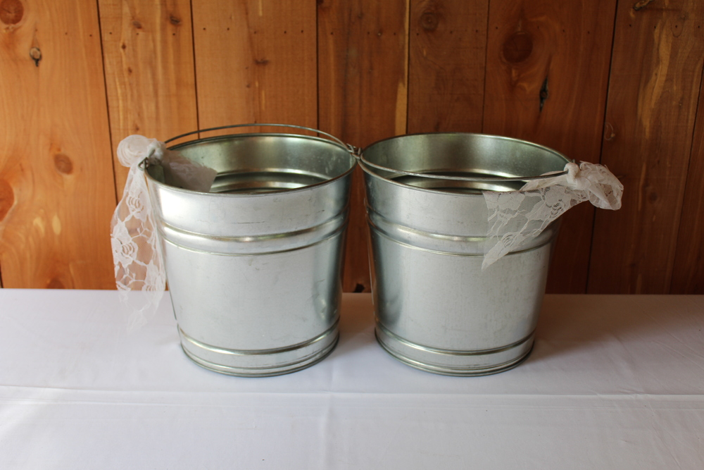 #87 - Galvanized Tubs