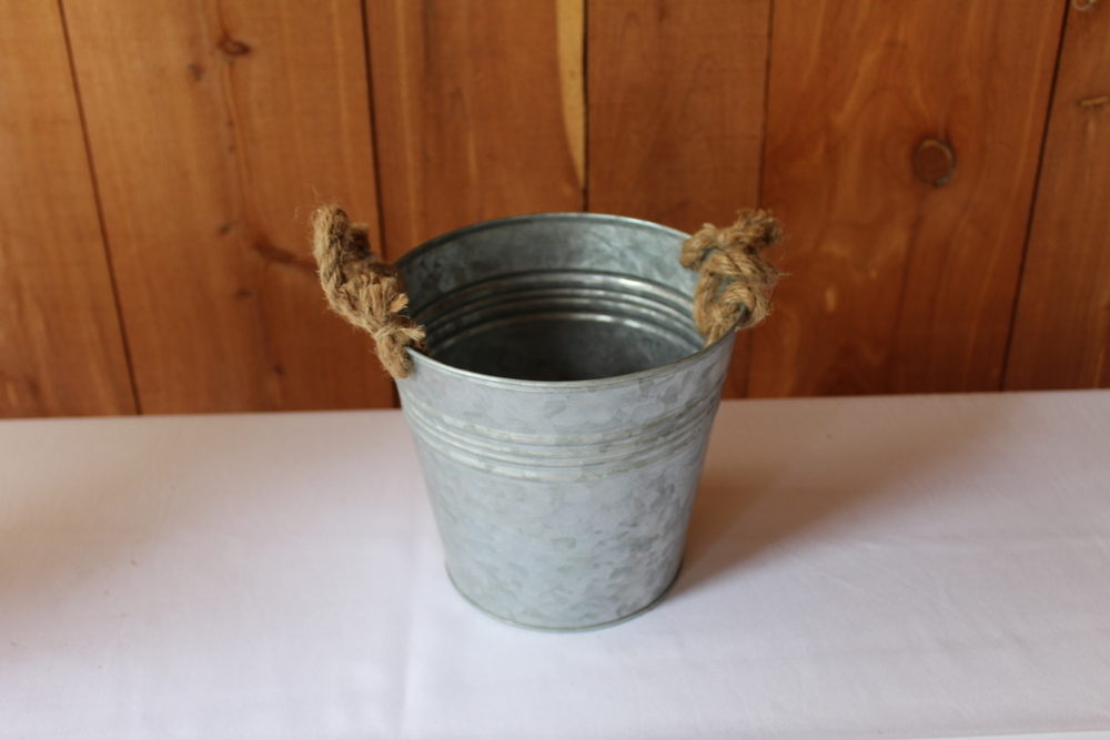 #89 - Small Galvanized Bucket