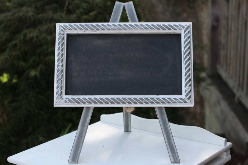 #114 - Small Chalkboard Signs (Qty 3)