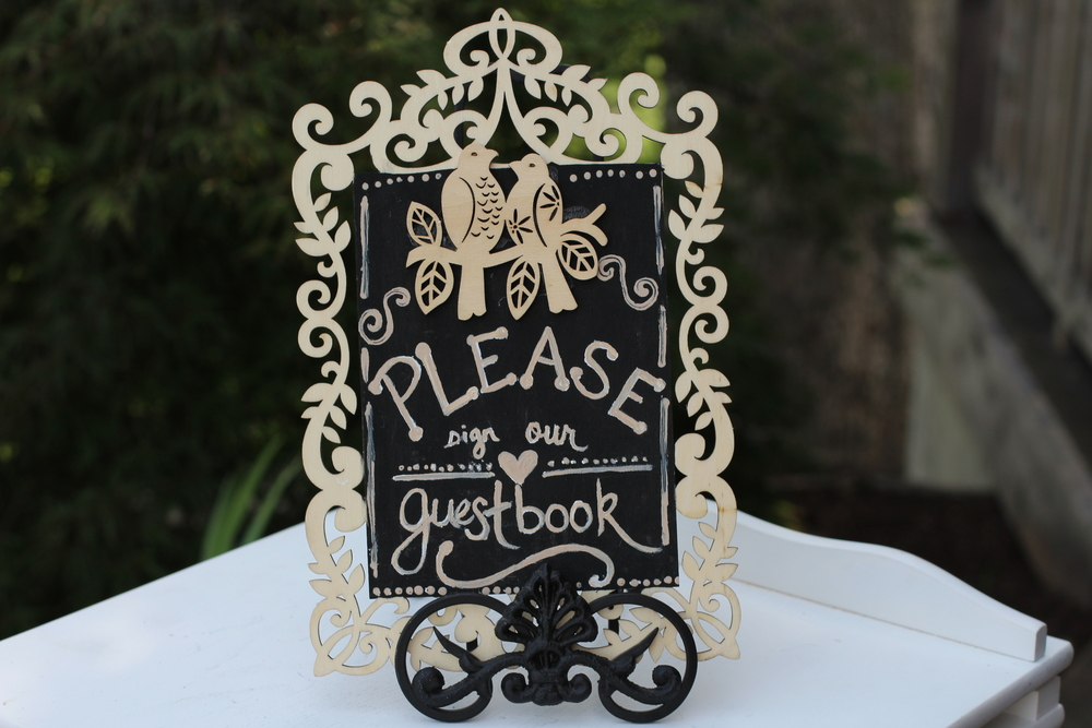 #115 - Guestbook Sign