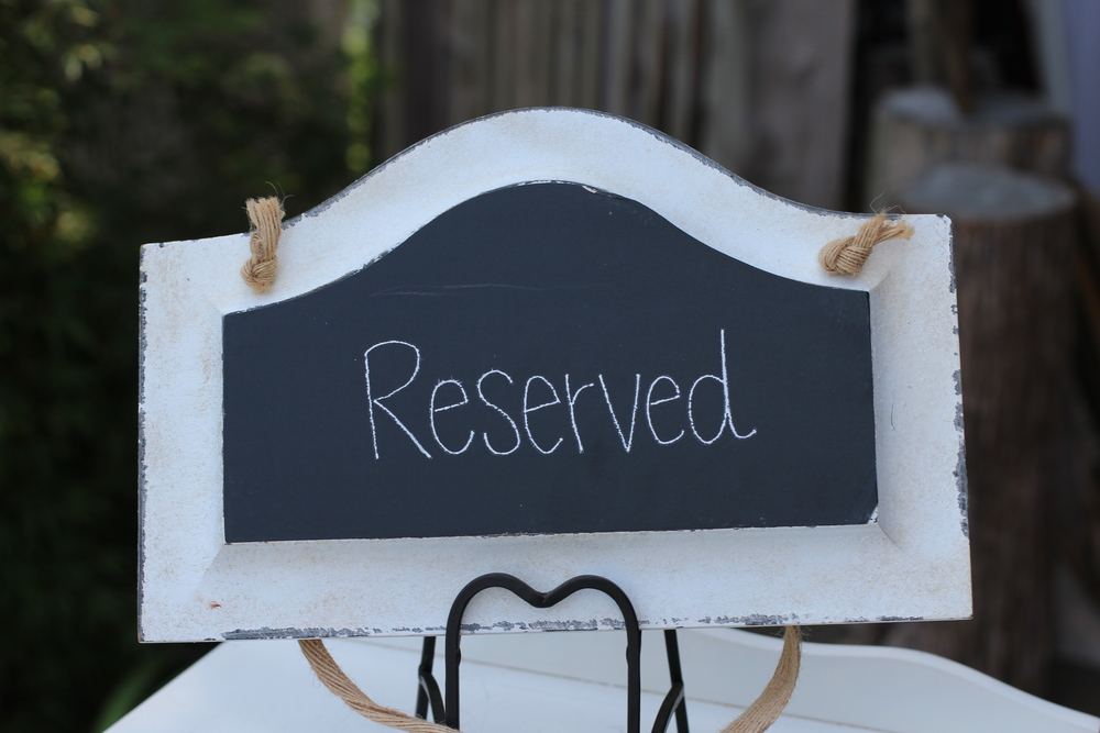 #116 - Small Chalkboard Hanging Sign (Qty 2)