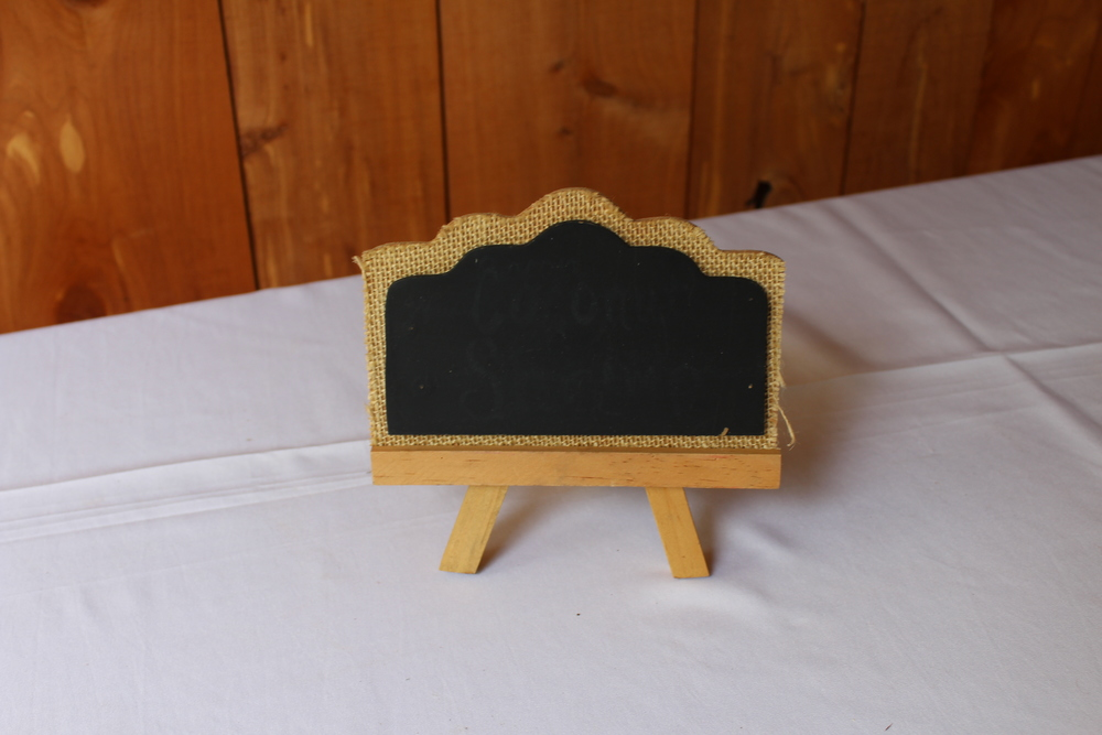 #137 - Small Chalkboard Easels