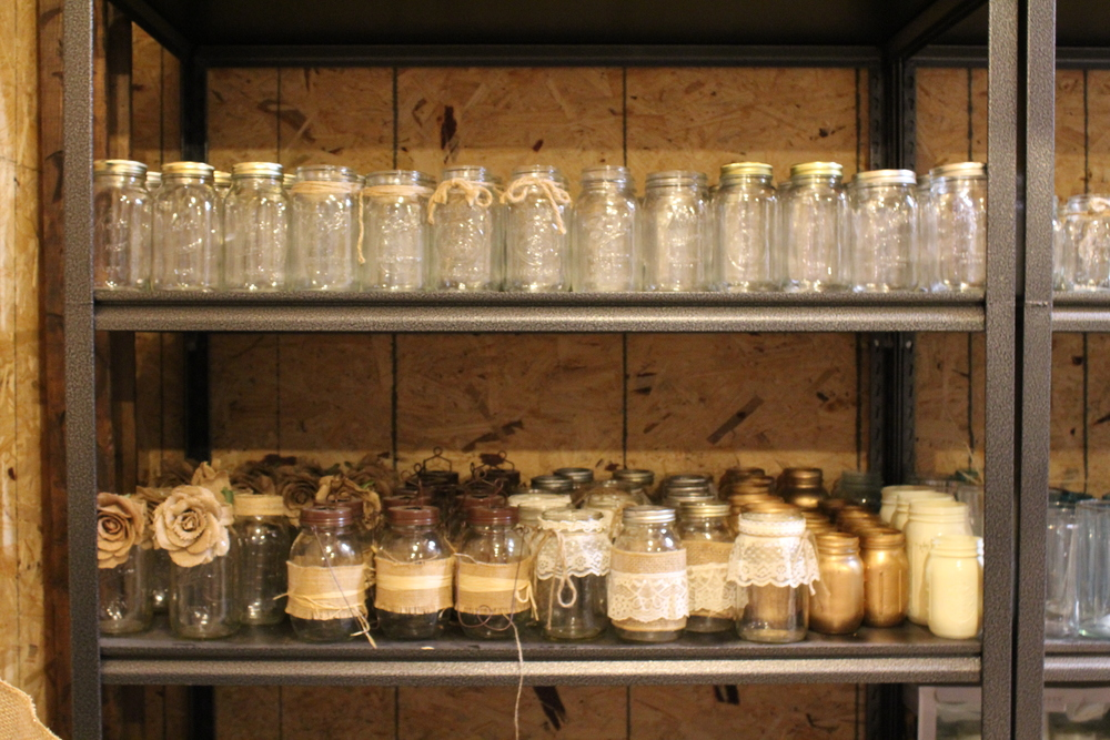 #142 - Various Mason Jars