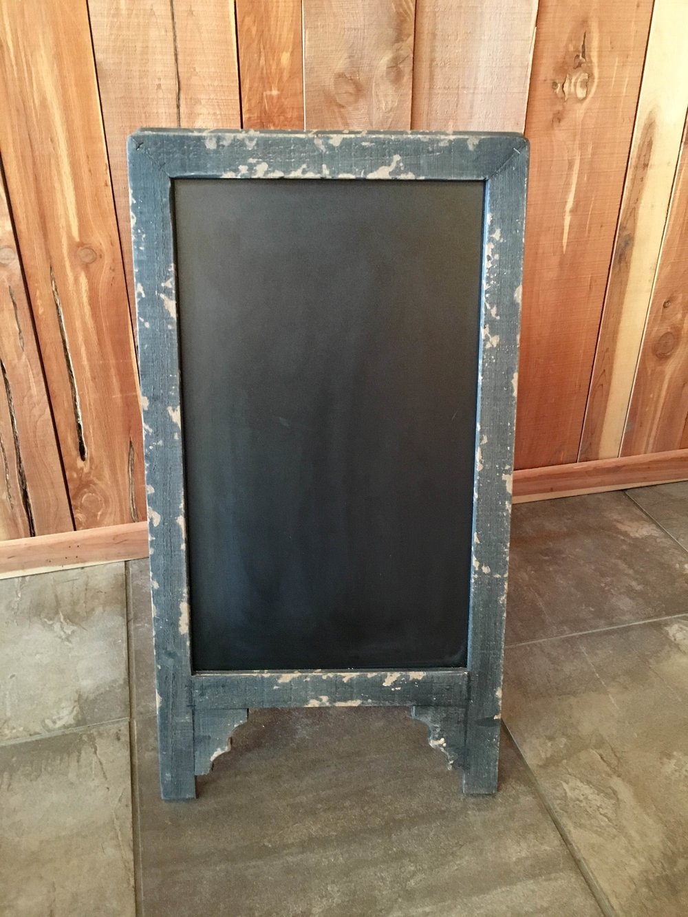 #178 - Chalk Board Easel