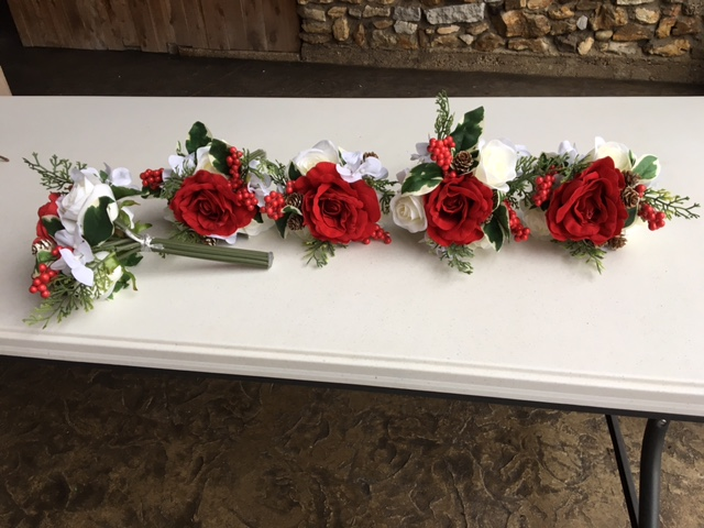 #185 - Red Rose Bundles - Qty 5