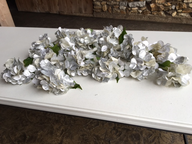 #193 - Silver Floral