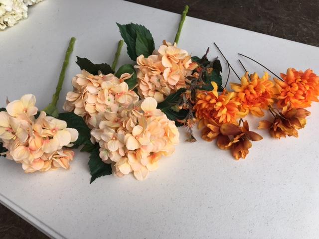 #199 - Orange Floral