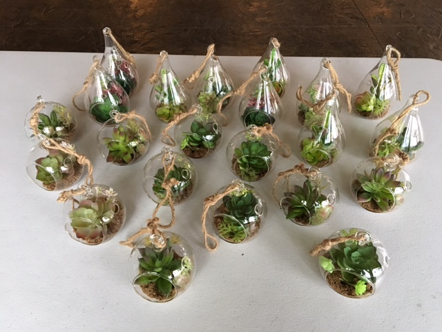 #212 - Small Faux Terrariums (Qty 20)