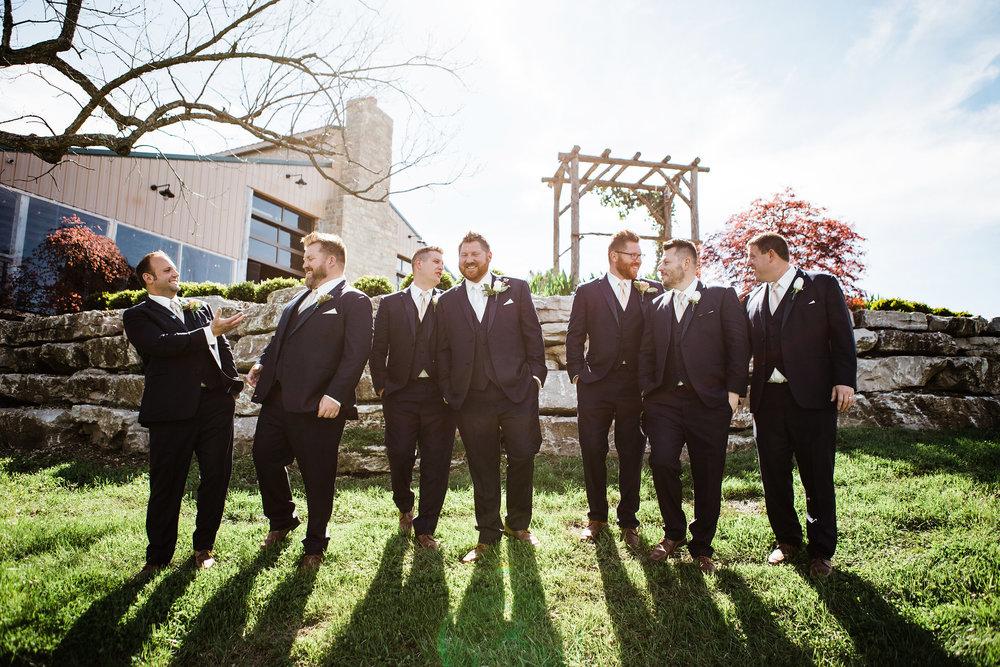 Featured Wedding: Jen & Tim — Haue Valley: St. Louis ...