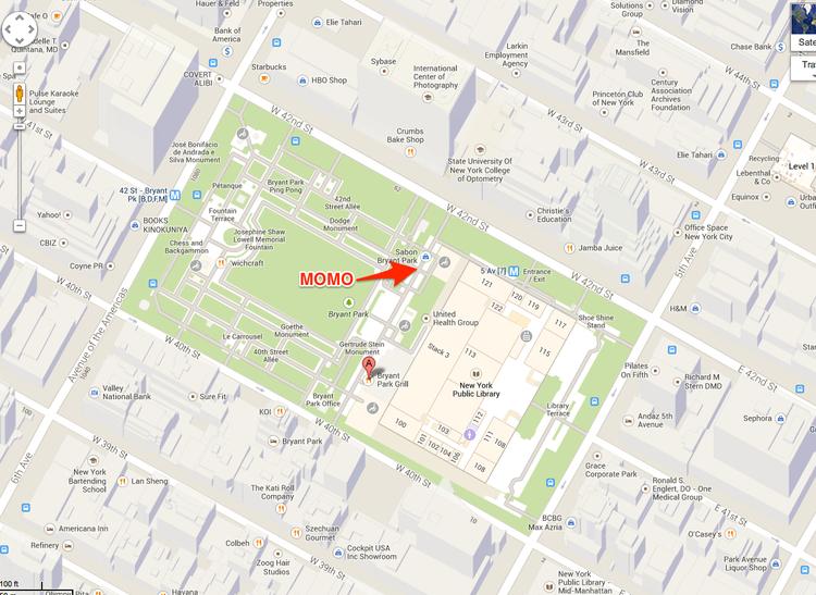 The Holiday Shops at Bryant Park (New York, NY) — Momo Glassworks