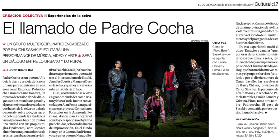 The Call of Padre Cocha