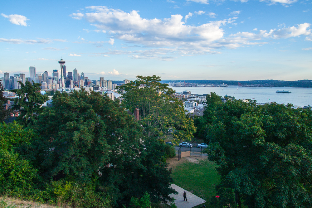 A beautiful view from Kerry Park.