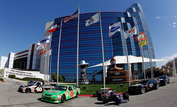 Visit nascar texas motor speedway in your tractor trailer for Nascar racing experience texas motor speedway