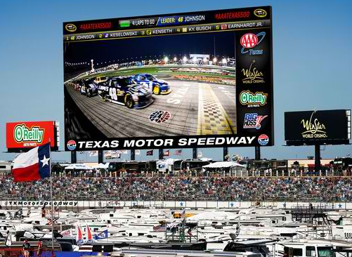 Visit nascar texas motor speedway in your tractor trailer for Texas motor speedway concert