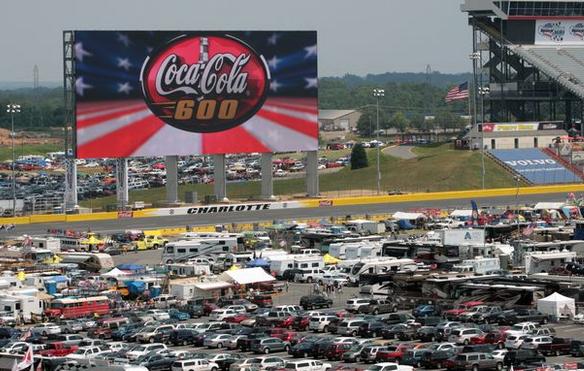 Nascar Coca Cola 600 Charlotte Motor Speedway In Your Big
