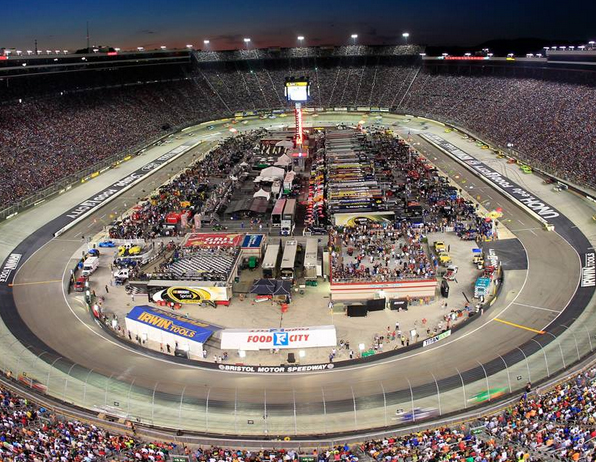 Image Courtesy Bristol Motor Speedway Facebook Fan Page