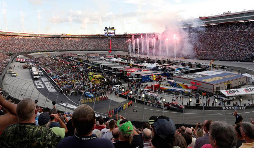 Visit Nascar At Bristol Under The Lights In Your Truck