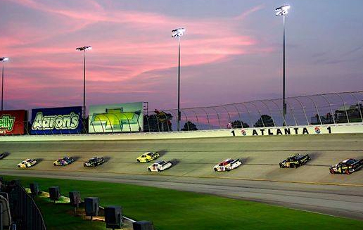 Image Courtesy Atlanta Motor Speedway Facebook Fan Page