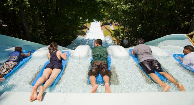 Truck Travel Series Six Flags White Water Atlanta Ga And