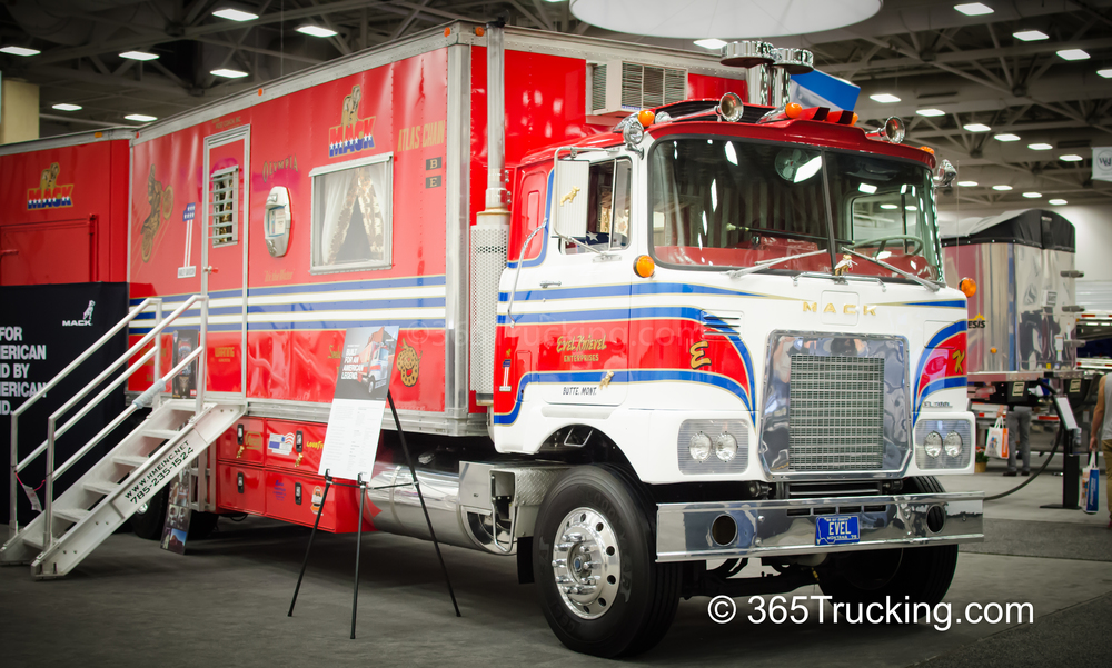 For full evel knievel truck coverage please follow this link