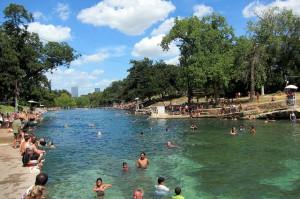 Barton Springs Pool Park, Austin