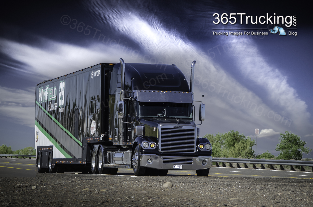 #TruckParking at every #NASCAR race: Featuring #PoconoRaceway #Trucking Travel Ideas!