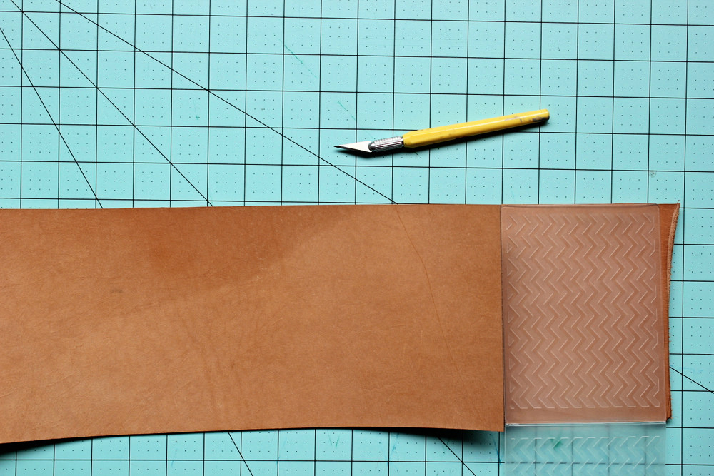 diy letterpress leather coasters 1.jpg