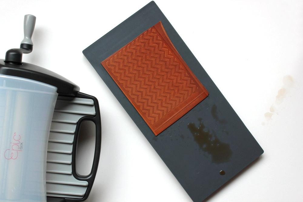 diy letterpress leather coasters 6.jpg