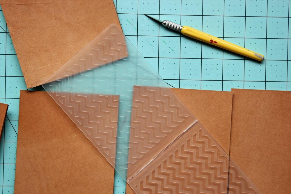 diy letterpress leather coasters 2.jpg