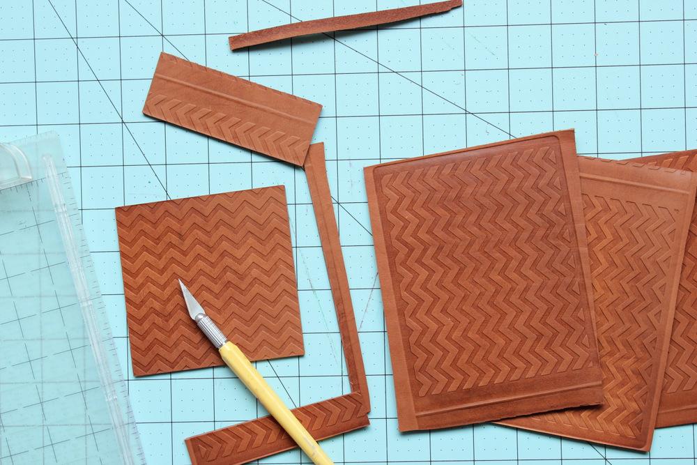 diy letterpress leather coasters 7.jpg