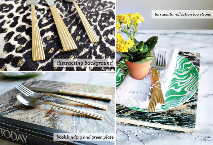 DIY GILDED FLATWARE AND STYLING NOTES — Hank and Hunt Party Crafts