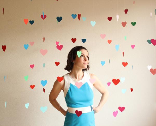 Diy photobooth hearts