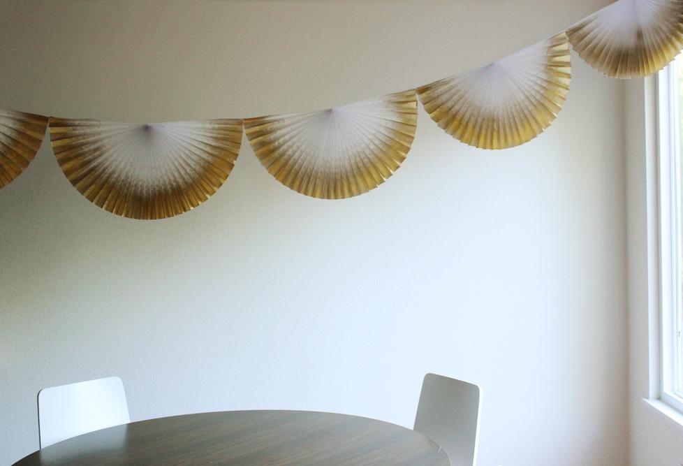 gold paper fan bunting.JPG