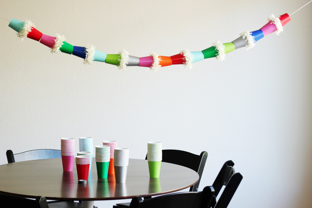 diy fringe paper cup garland.JPG