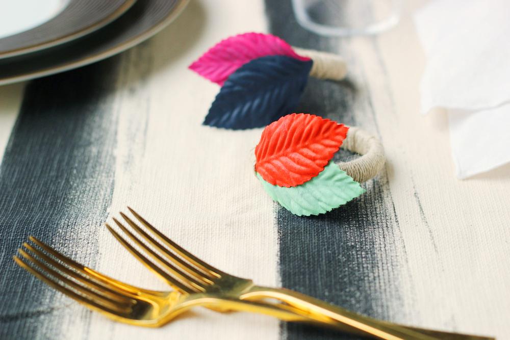 diy colorful napkin rings.JPG