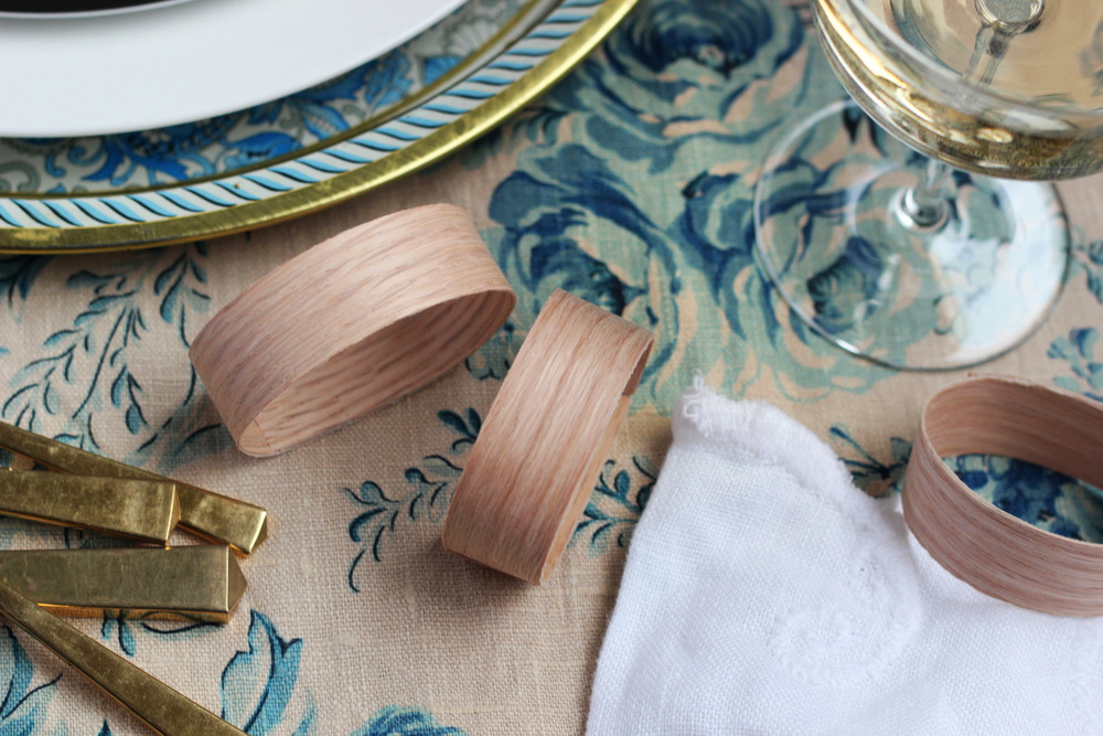 making wood napkin rings