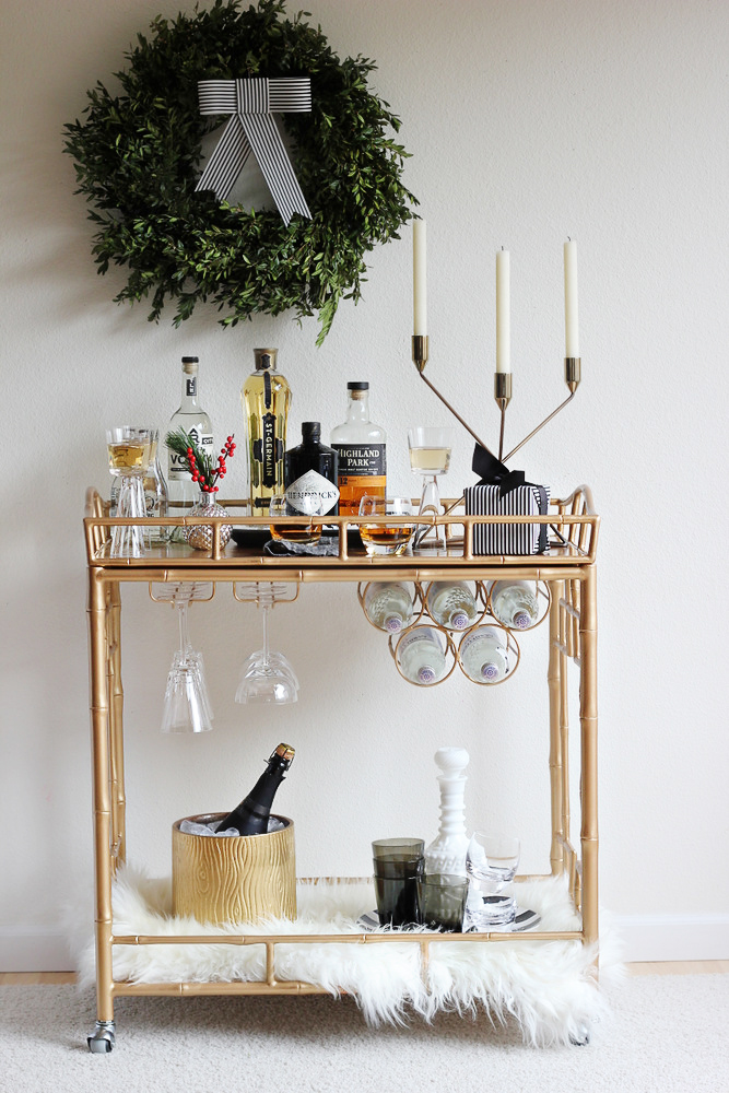 holiday bar cart full.jpg