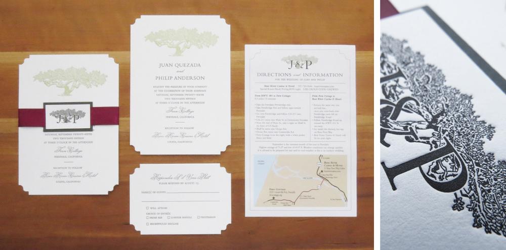 final cut pro wedding templates - wedding invitations just my type letterpress