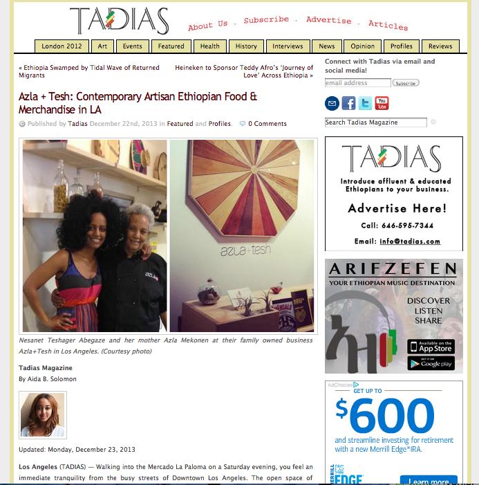 Tadias Magazine