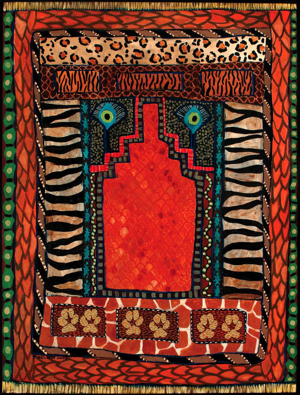 Animal Prayer Rug, copyright (c) Pamela Nelson