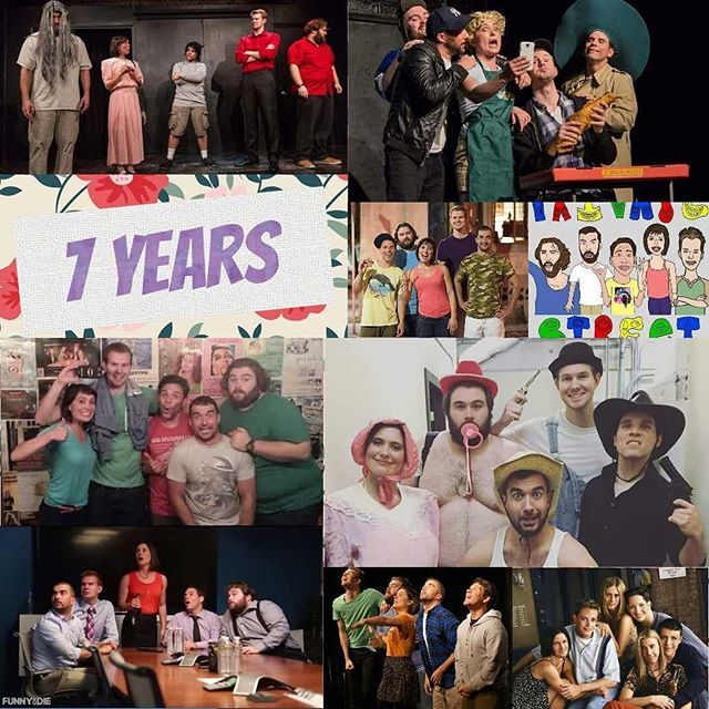 7 years of comedy!